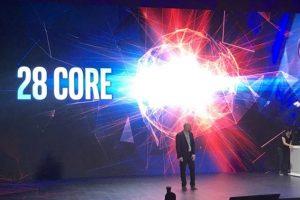 Intel показала 28-ядерный 5-ГГц процессор и выпустит его в конце года»