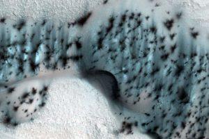 #фото | NASA опубликовало удивительные фотографии зимнего Марса