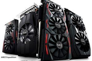 ASUS представила бренд AREZ для видеокарт Radeon»