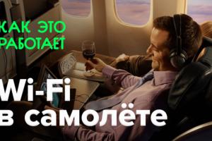 Как это работает? | Wi-Fi в самолёте