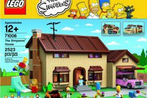Конструкторы Lego с героями «Симпсонов» выйдут в феврале