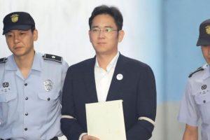 Глава компании Samsung проведёт пять лет в тюрьме