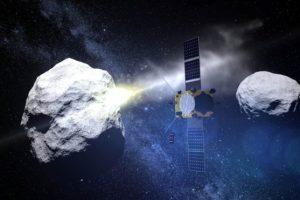 Агентства NASA и ESA возьмут астероид на таран в 2024 году