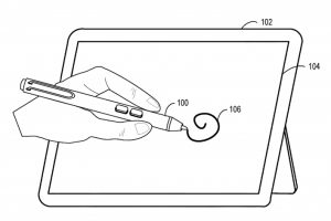 В Microsoft придумали электронное перо с сенсорным зажимом»