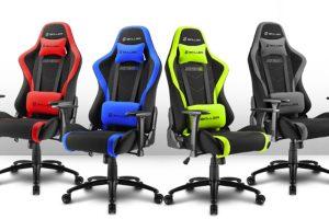 Sharkoon Skiller SGS2: комфортное игровое кресло в четырёх вариантах расцветки»