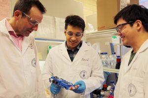 В Университете Торонто создали портативный 3D-принтер для печати кожного покрова»